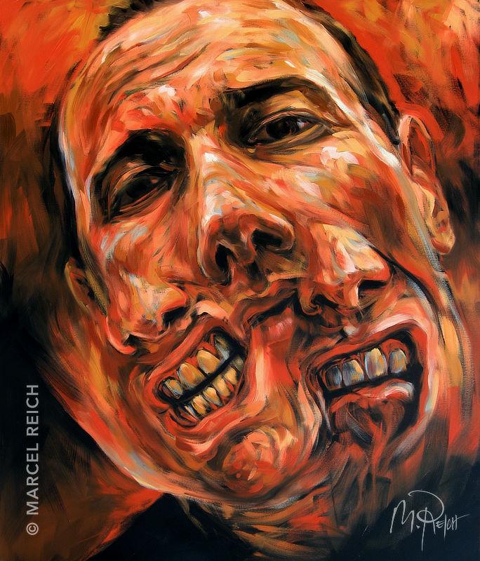 Gemälde Kunst marcel reich düstere kunst gesellschaftskritik gemälde zeichnungen